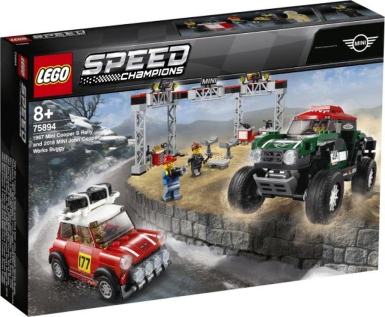 Mini Cooper S en Mini John Cooper Works buggy Lego (75894)