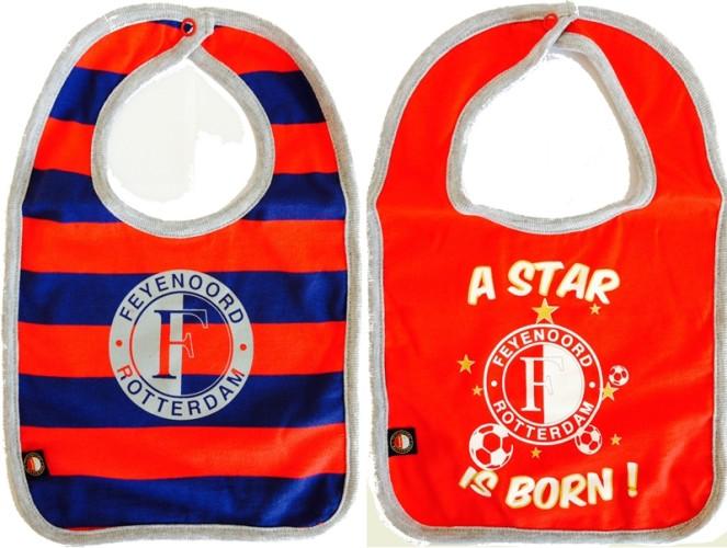 Slabbetjes Feyenoord blauw-rood SLAB020202