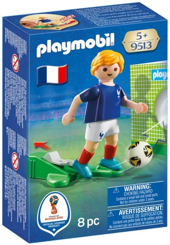 Voetballer Frankrijk Playmobil (9513)