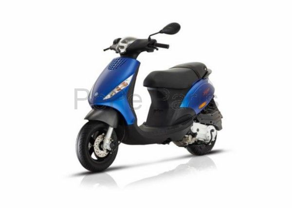 Scooter 25km zip 4t (euro4) blauw mat
