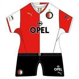 Feyenoord Minidress Thuis Home 2014