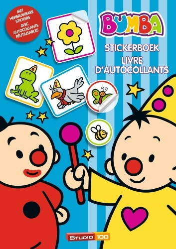Stickerboek Bumba Toverstaf