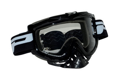 Crossbril anti-vocht/ Kras Zwart Progrip