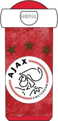 Schoolbeker Ajax rood-wit