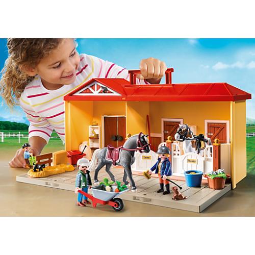 Mijn Meeneem Paardenstal Playmobil 5348