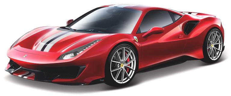 Ferrari 488 PISTA RACE&PLAY Rood (1:24) BBURAGO