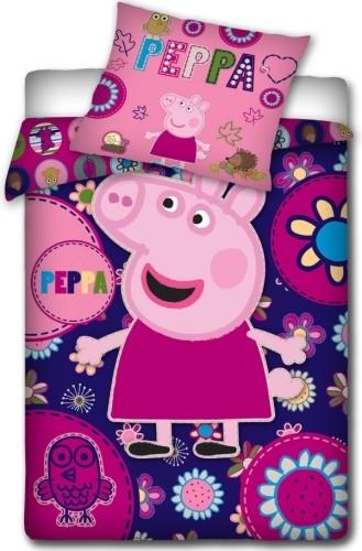 Dekbed Peppa Pig Roze140x200-70x80 cm