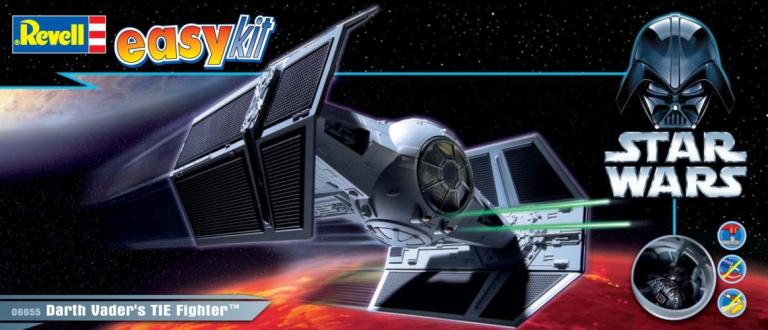 Darth Vader`s TIE Fighter Revell: schaal 1:57 (06655)
