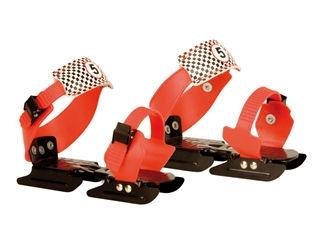 Glij ijzers Verstelbaar Rood-Zwart 24-34