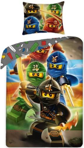 Dekbed Lego Ninjago (LEG374) 140x200-70x90 cm