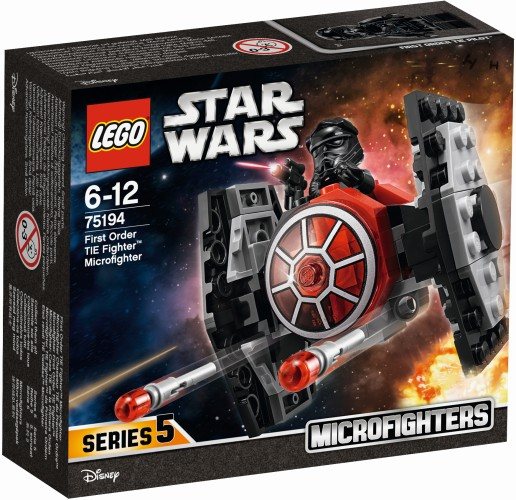 First Order TIE Fighter Microfighter Lego (75194)
