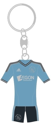 Ajax Sleutelhanger Minikit Uit Away 2012
