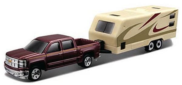 Chevrolet SILVERADO 1500 Z71 + RV TRAILER 2014 (3INCH)