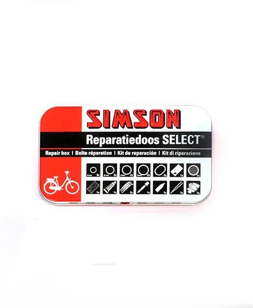 REPDOOS SIMSON SELECT MET OPHANGCLIP