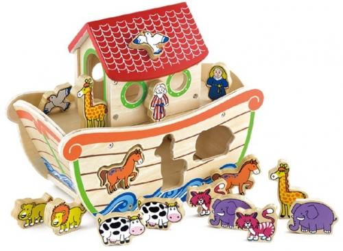 Ark Noach Vormensorteerder New Classic Toys