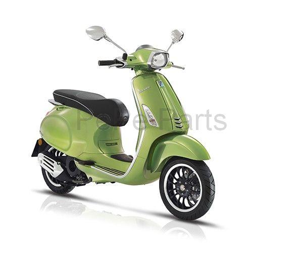 Scooter 25km Sprint 4t (euro4) groen metallic 341/ a
