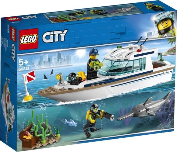 Duikjacht Lego (60221)