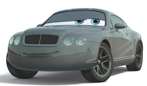 Character Cars 2 Prince Wheeliam