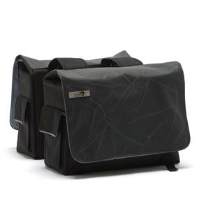 NL tas 318 Mondi double crack black