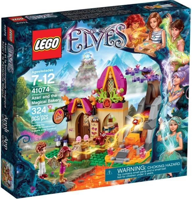 Azari en de Magische Bakkerij Lego 41074