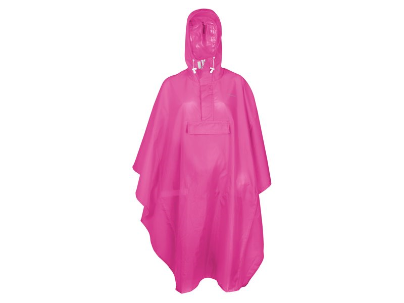 PONCHO BASIC ROZE ONE SIZE