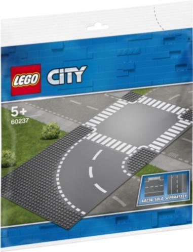 Bochten en kruising Lego (60237)
