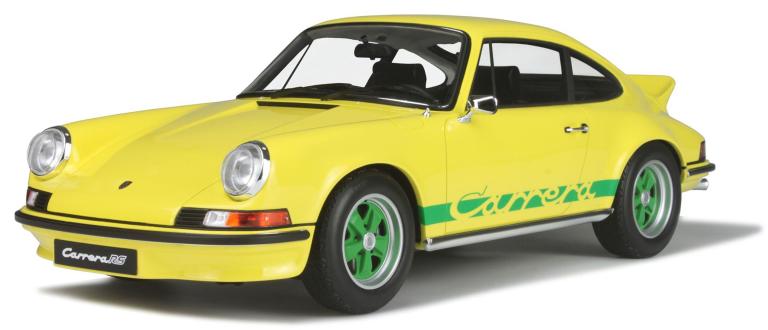 Porsche 911 2.7 RS TOURING GEEL(GT SPIRIT)(1:18)