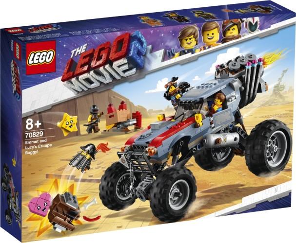Emmets en Lucy s vlucht buggy Lego (70831)