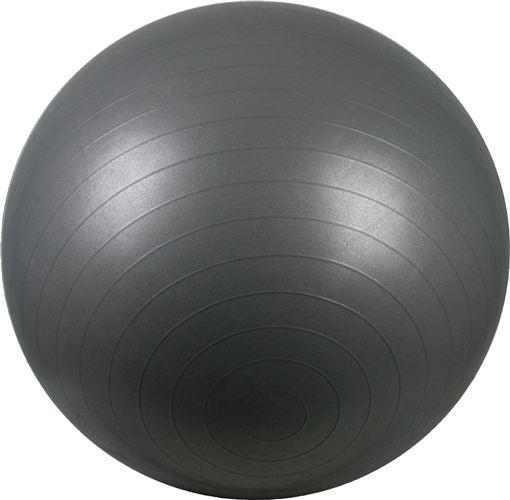 Gymnastiekbal Fitness Bal 65 Grij/Zilver