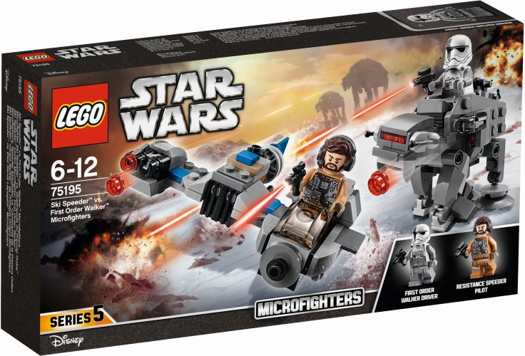 Speeder vs First Order Walker microfighter Lego (75195)
