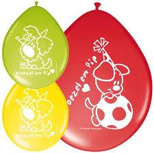 Ballonnen Woezel en Pip Zakje 30 cm