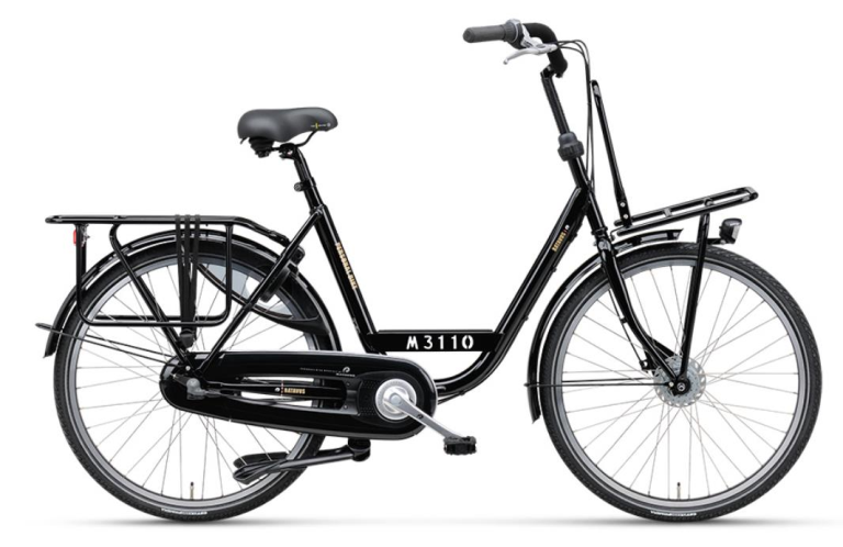 P.BIKE PLUS UN3 ZWART 54