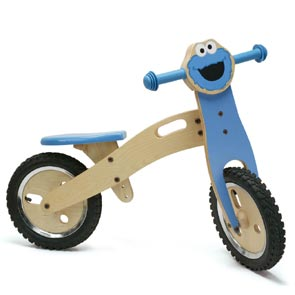 Sesamstr loopfiets Cookiemonster