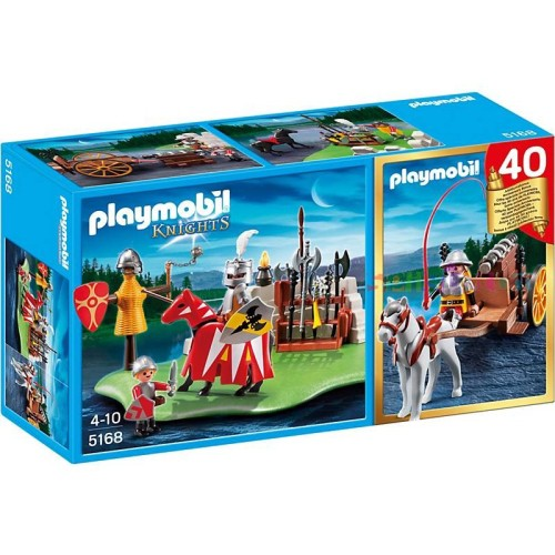Riddertornooi met Kanontransport CompactSet Playmobil 5168