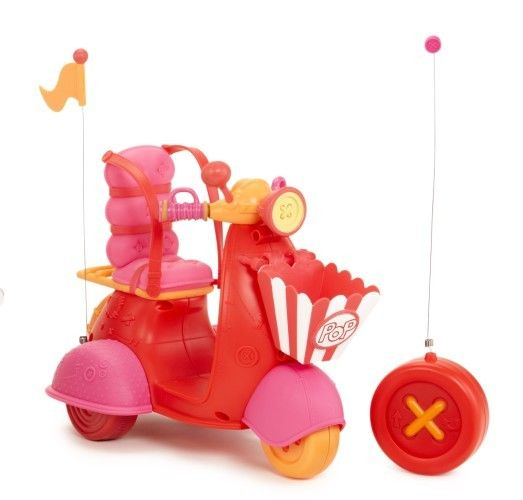 Scooter Lalaloopsy RC 27MHZ Rood