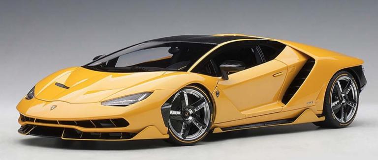 Lamborghini CENTENARIO 2018 (GEEL METALIC) AUTOART (1:18)