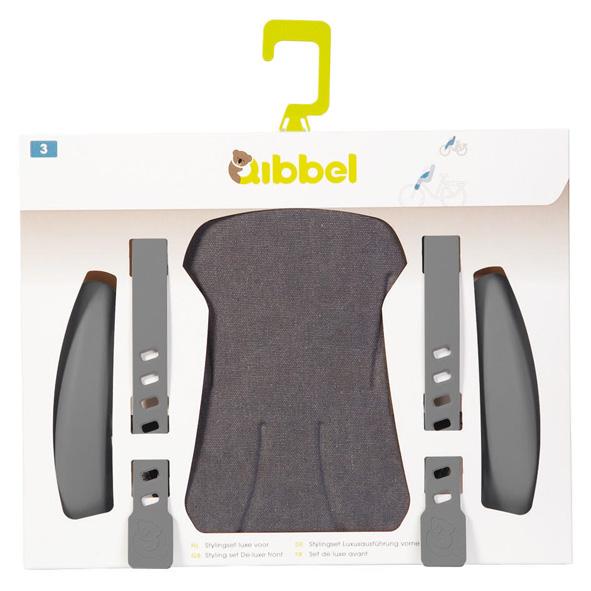 Qibbel stylingset voorzitje Elements grijs