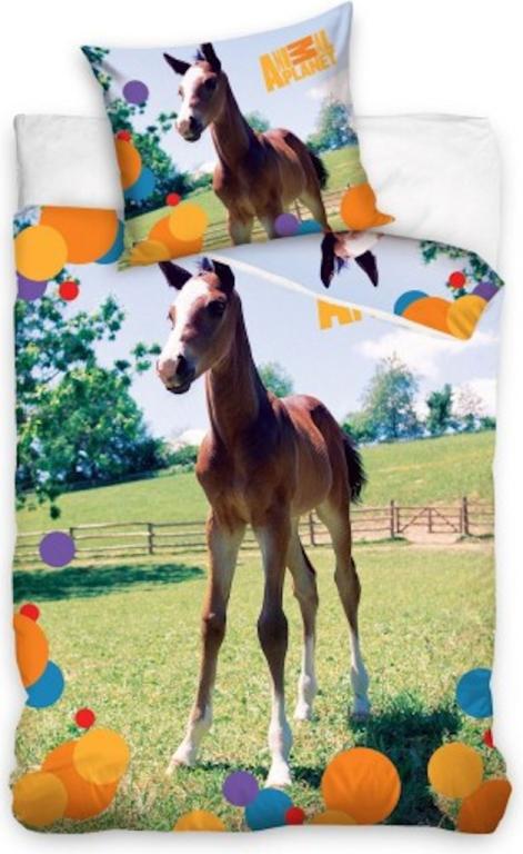 Dekbed Animal Planet Paard (AP8016) 140x200-70x80 cm