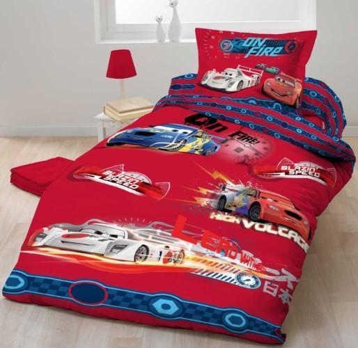 Dekbed Cars 2 On Fire 140x200 cm