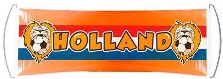 Banner Holland Uitrolbaar Leeuw