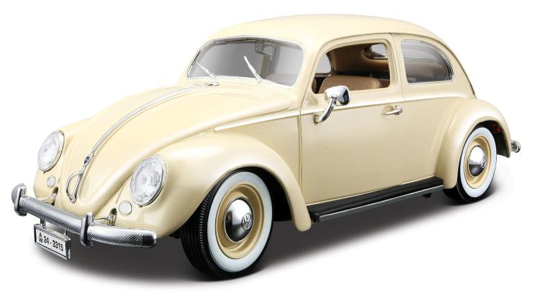 VW KEVER 1955 (BEIGE) (1:43)