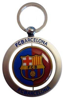 Barcelona Sleutelhanger Roterend Metaal