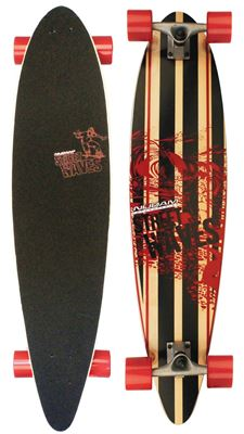 Longboard 39INCH Pintail Street Waves