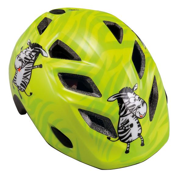 MET helm Genio zebra groen