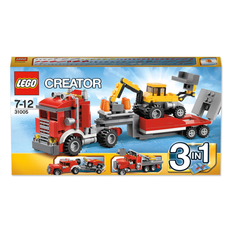 Creator 3 in 1 Transportwagen Lego 31005