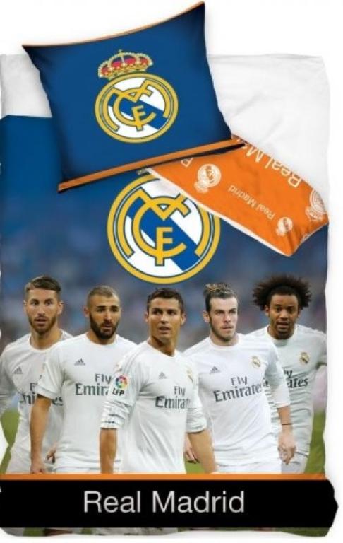 Dekbed Real Madrid Spelers (RM6005B): 140x200/70x90 cm