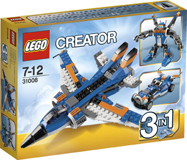 Lego 31008 Creator 3 in 1 Thunder Wings