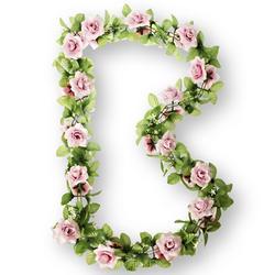 SLINGER BAS FLOWER GARLAND BLOEMENSTRENG ROOS