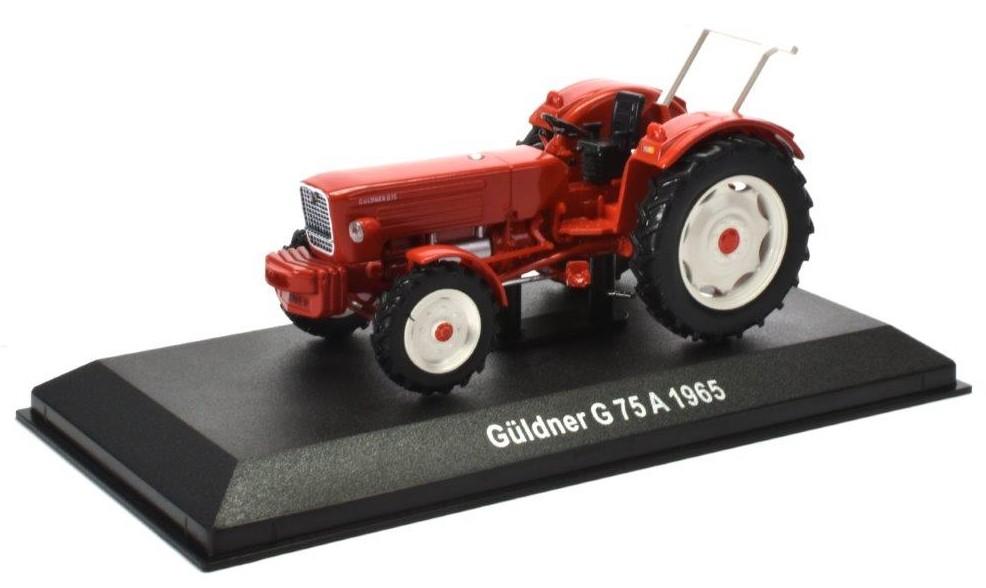 Guldner G75A 1965 (rood/wit) (1:43) ATLAS