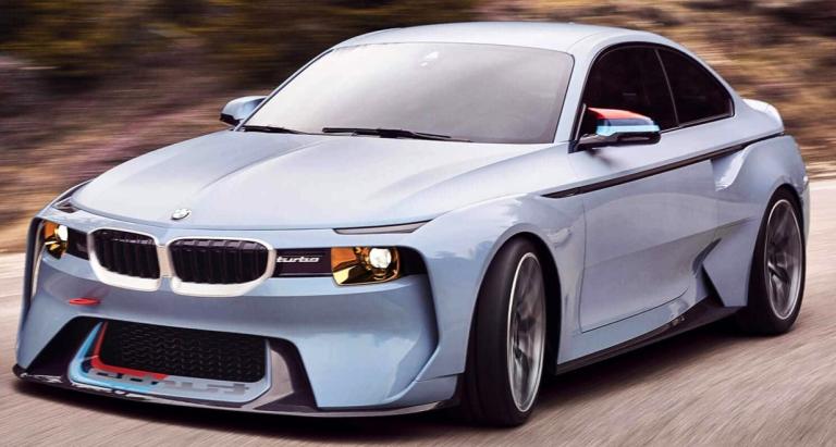 BMW 2002 HOMMAGE (1:18)